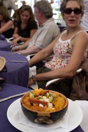 The house specialty--delicias de don Tomas.