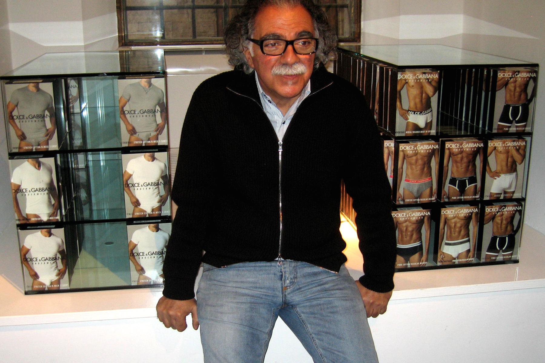 Gianpaolo Nicolia and his $100 briefs.