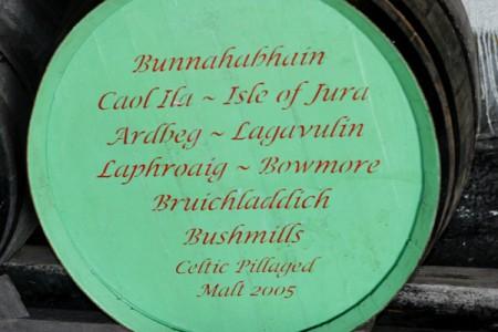 A cask of Celtic Pillaged. Photo by David Lansing.