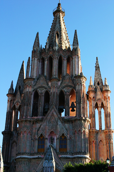 The bell tower of La Parroquia. Photos by David Lansing.