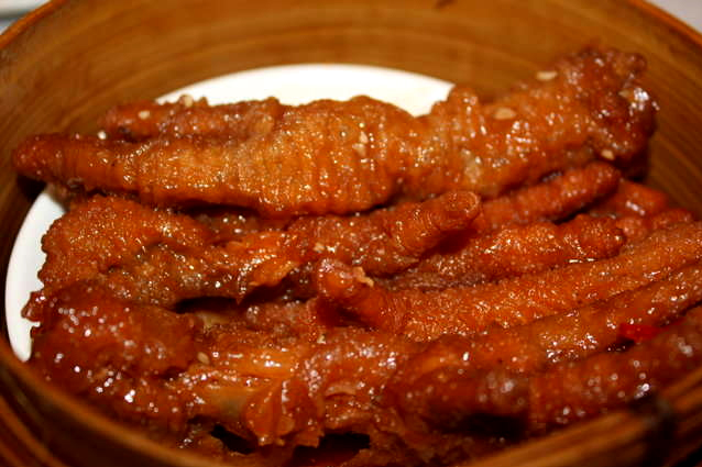 hong kong dim sum chicken feet recipe with black