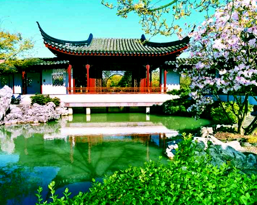 Vancouver's Dr. Sun Yat-Sen garden.
