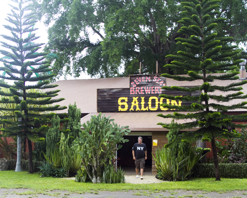 The War Horse Saloon in Port Vila, Efate. Photo by David Lansing.