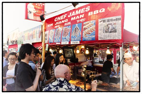 Chef James Xin Jiang Man BBQ