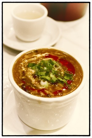 Sweet & sour soup, Shanghai River Restaurant