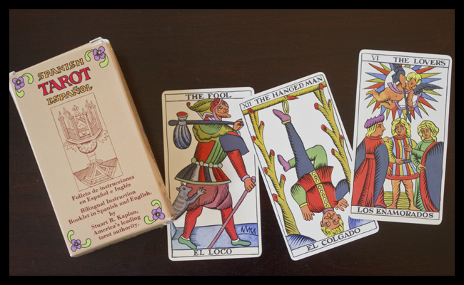 Spanish tarot cards