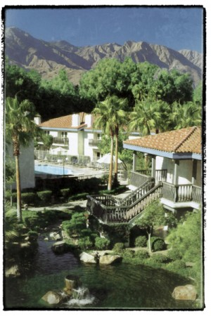 A postcard, from 1999, of La Casa del Zorro in Anza-Borrego.