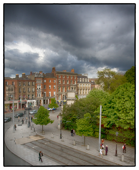 View of St. Stephen's from The Fitzwilliam Hotel, Dublin